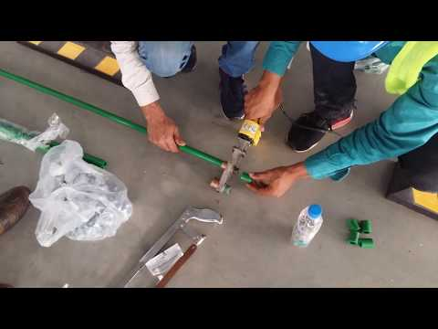 How to join PPR Pipe weldding process 2019