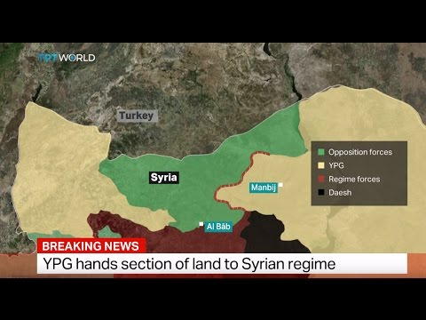 Breaking News: YPG hands section of land to Syrian regime