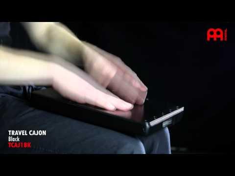 售完 MEINL 旅行 木箱鼓 膝上 travel Cajon TCAJ1 BK 黑色 保證公司貨【茗詮樂器】