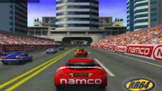 Ridge Racer 64 Game Sample - N64
