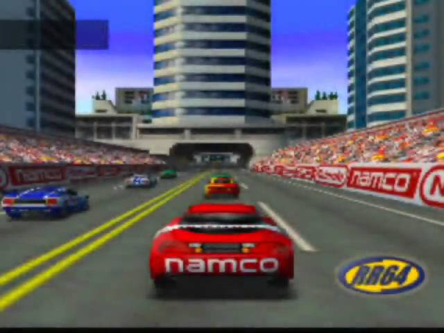 Ridge Racer 64 Game Sample - N64