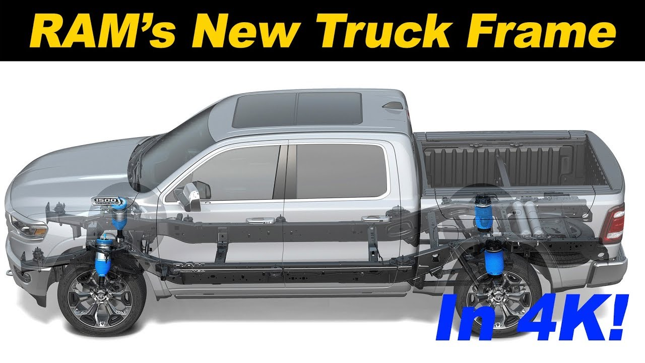 2019 Ram 1500 Deep Dive Into S Stronger And Lighter Frame