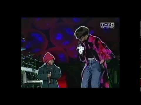 Whitney Houston (with Bobbi-Kristina) live Poland 1999 - My Love is Your Love (HD)