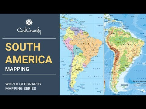 SOUTH AMERICA || World Geography Mapping