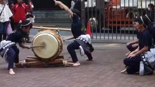 都立農芸高校 学祭2014 太鼓の演武 2014.11.8 Taiko