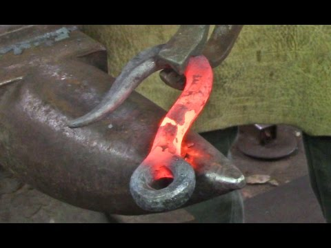 Blacksmithing - Trace Hook, 'Old-School' project #1