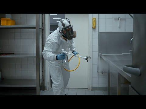 Désinfection des surfaces par pulvérisation | WAGNER