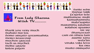 Thank You from Lady Sharona Witch TV