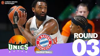 Canaan pushes UNICS to first win!   Round 3, Highlights