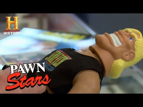 Pawn Stars: Stretch Armstrong Toy