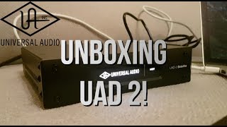 Unboxing UAD 2 SATELLITE! How To Install UAD Plugins