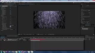 كيفية إنشاء المطر - Adobe After Effects