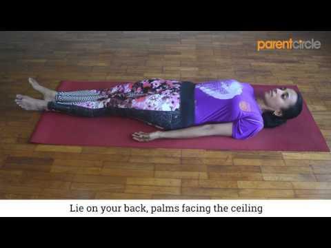 Yoga for busy moms: Corpse pose (Savasana)