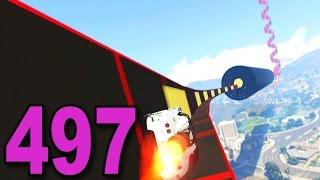 Grand Theft Auto 5 Multiplayer - Part 497 - Crazy Moon Spiral!