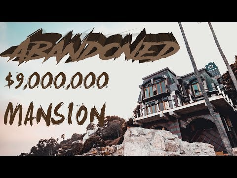 ABANDONED $9,000,000 MANSION