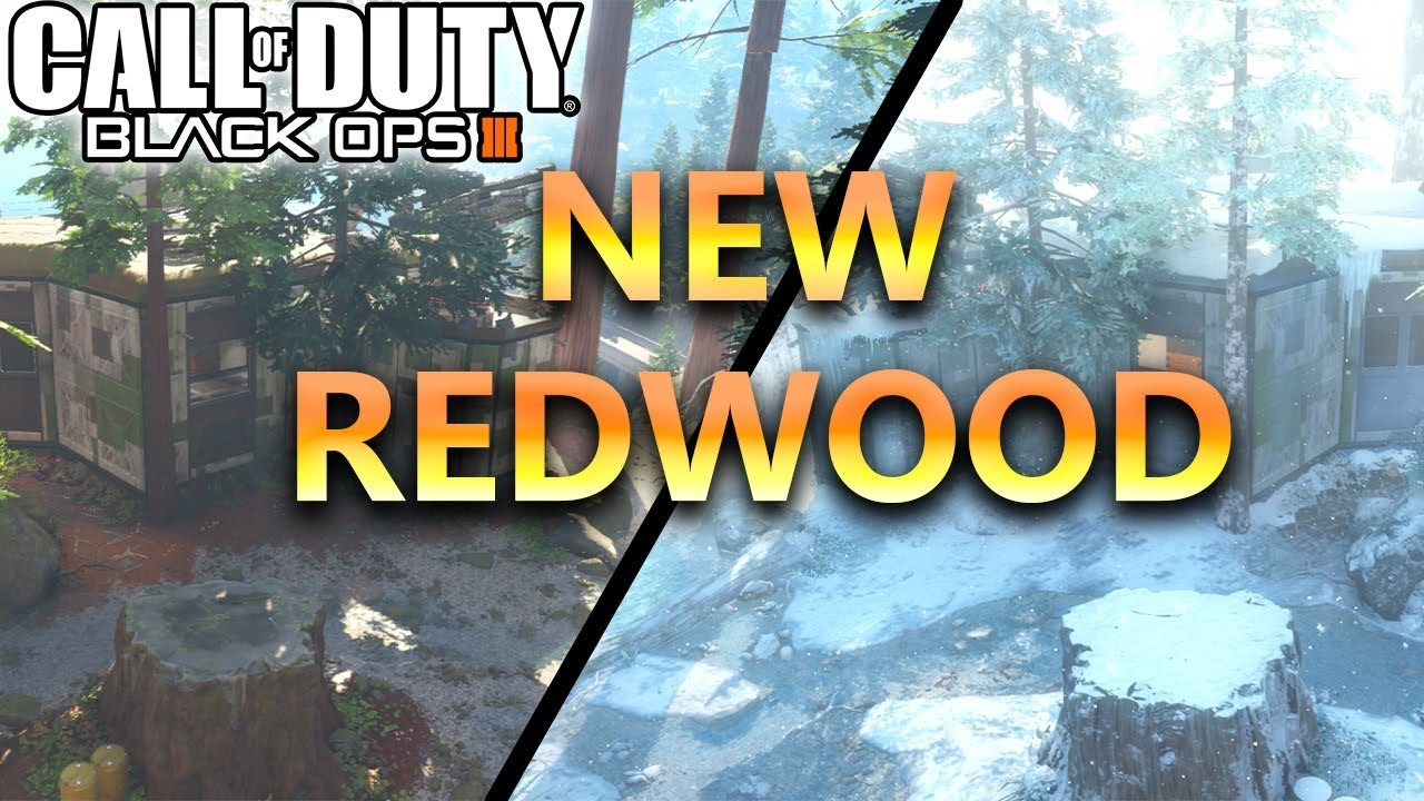 New Redwood Snow Map Update 1 27 Call Of Duty Black Ops 3 First