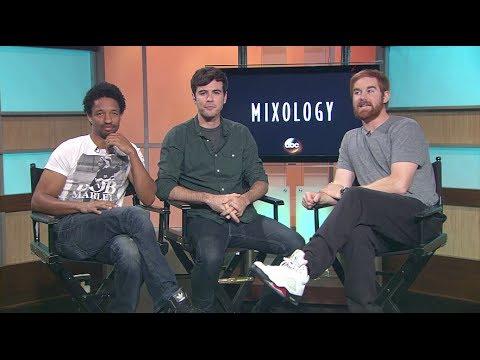 #MingleMediaTV Talks to Craig Frank, Blake Lee & Andrew Santino from ABC's Mixology #Comedy