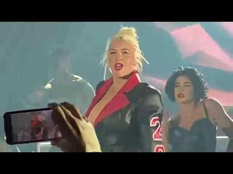 Christina Aguilera  Dirrty  Liberation Tour
