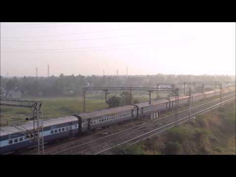 WAP4 powered Guwahati Bangalore Express