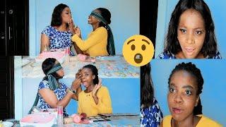 HILARIOUS| Makeup On Blindfold ft HANNAH EMENIKE
