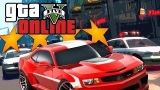 GTA 5 Online ★ 4 STAR SUPERCAR ESCAPE (Dumb & Dumber)