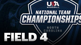 15U National Team Championships North Carolina // August 4 // USA Baseball Field 4