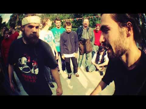 bboy Crash vs bboy Mark | 2013 Real concrete battle