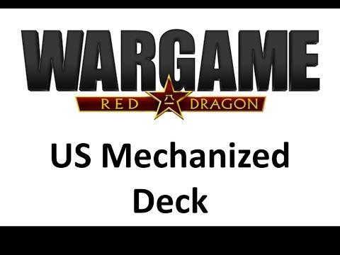 Wargame Red Dragon - US Mechanized Deck