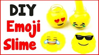 Video DIY Crafts: How To Make Emoji Slime - DIY Slime with 3 Ingredients! download MP3, 3GP, MP4, WEBM, AVI, FLV November 2017