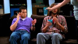 two and a half men walden schmidt tries to talk his wife into taking him back hd