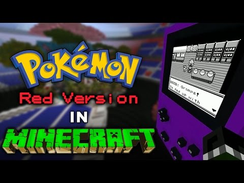 """Pokémon Red INSIDE Minecraft — An Interview with the Creator, """"Mr. Squishy'"""""""