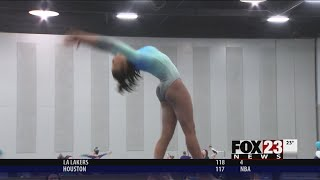 VIDEO - Tulsa gymnast fights painful disorder to compete