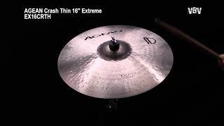 "Crash Thin 16"" Extreme Video"