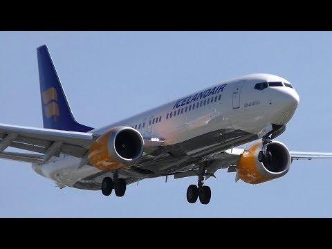 "Amazing! Icelandair Boeing 737 MAX 8 TF-ICE ""Jökulsárlón"" Landing at Berlin Tegel Airport"
