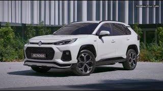 2021 Suzuki Across Plug in Hybrid Exterior Interior and Drive