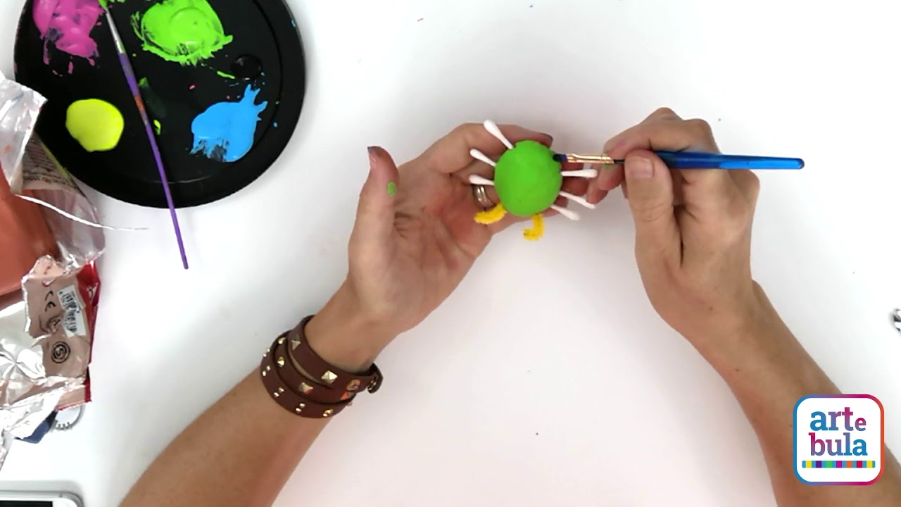 How to Make a Clay Bug