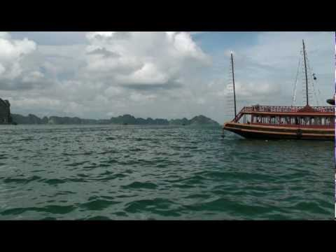 UNESCO World Heritage Halong bay Vietnam 2012  HD 720P