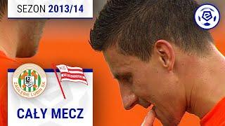 Zagłębie Lubin - Cracovia [1. połowa] sezon 201314 kolejka 34