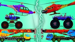 Good and Evil | Compilation for Kids | Cartoon Cars and Trucks