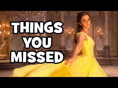 Thumbnail: BEAUTY AND THE BEAST Final Trailer EASTER EGGS & Things You Missed (2017)