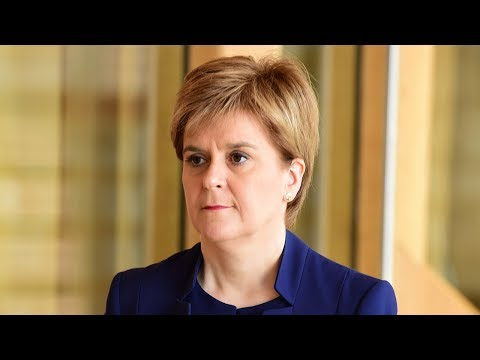 Scottish leader Sturgeon pressures PM May to allow second independence referendum