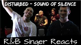 R&B Head Reacts to Disturbed - Sound of Silence Live!!!