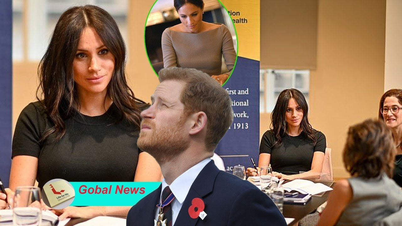 Pregnant Meghan set up business platform, soon after divorcing Harry and being banished from palace