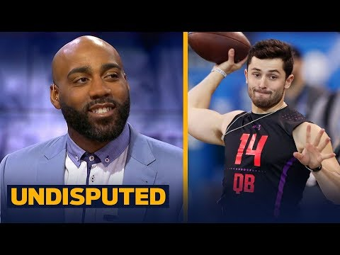 DeAngelo Hall on reports the Browns are considering taking Baker Mayfield with top pick | UNDISPUTED