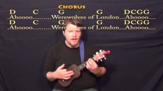 Werewolves of London - Ukulele Cover Lesson with Lyrics/Chords