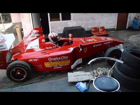 Modifikasi MOBIL F1 di jalan Indonesia KEREN!