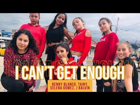 benny blanco Tainy Selena Gomez J Balvin - I Can&39;t Get Enough  Coreografía