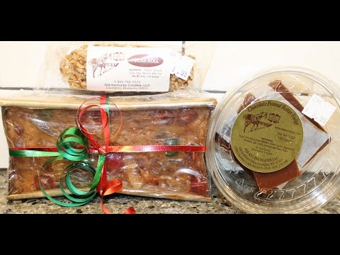 Old Kentucky Chocolates: Kentucky Bourbon Fruit Cake, Chocolate PB Fudge & Pecan Roll Review