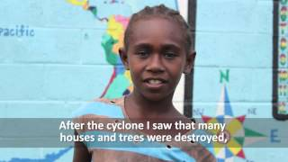 Sanita :  Life after Cyclone Pam