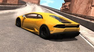 High Speed Driving Fails&Crashes #8 - BeamNG DRIVE